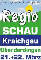 Werbung für Regio-Schau in Sulzfeld am 17.+18. März 2018